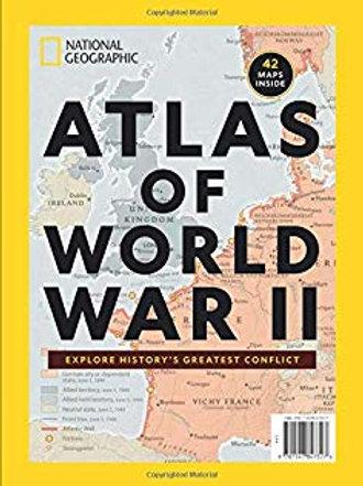 Atlas of the World War 2 -NatGeo Special Issue
