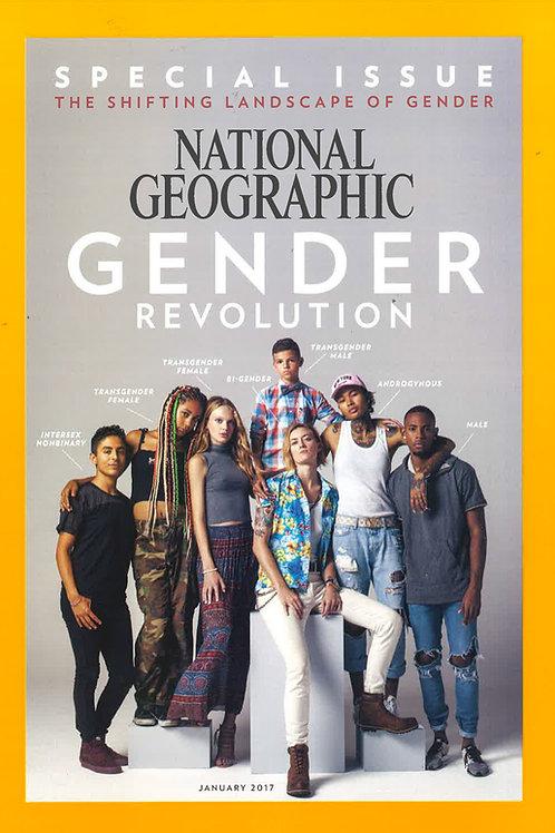National Geographic Magazine Jan Issue: Gender Revolution