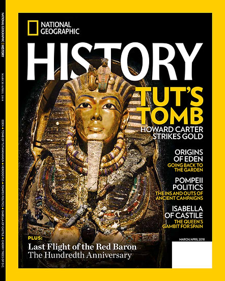 National Geographic History (6 Issues) (1dfpromo)