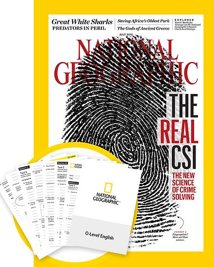 National Geographic Magazine w/ Worksheets (BTS)