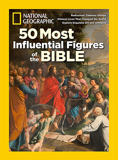 50 Most Influential Figures of the Bible - Good Fri19