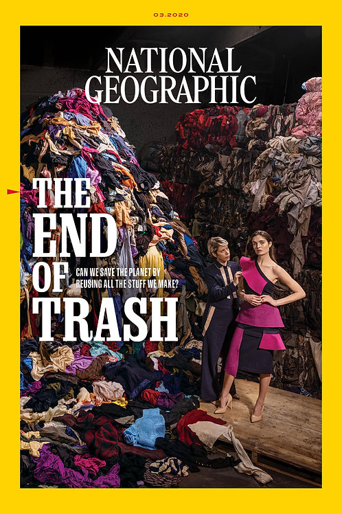 March 2020 issue - NatGeo Magazine ( FREE delivery included)