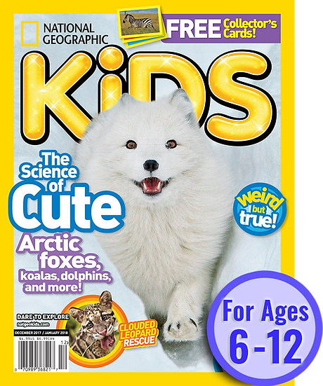 National Geographic Kids (10 Issues)  (SuperMom)
