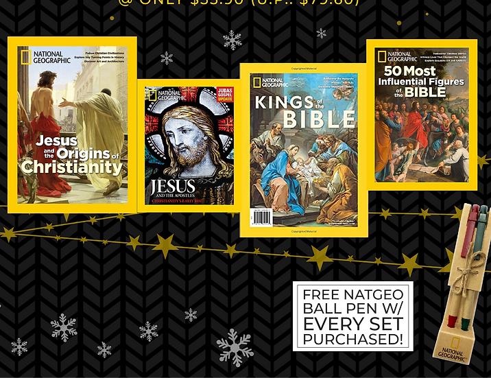 Christian Related Special issue Bundle - 4 copies