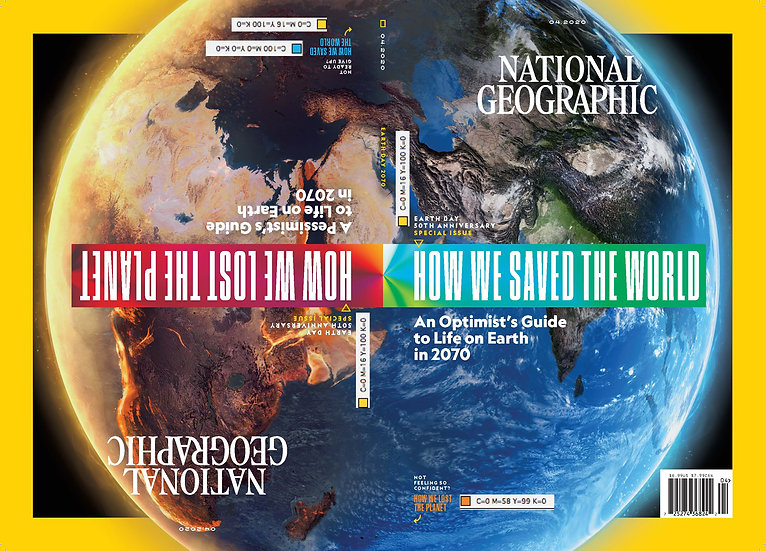 April 2020 - NatGeo Main Magazine (FREE delivery included)