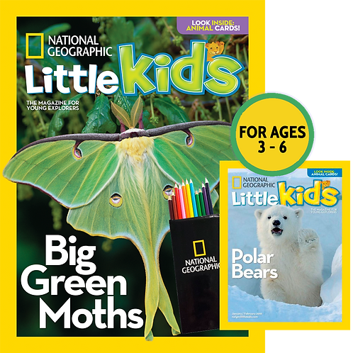 NatGeo Little Kids - 6-bimonthly issues- PS