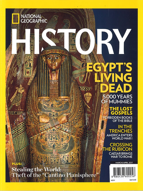 NatGeoHistory - 6 bi-monthly issues - PS