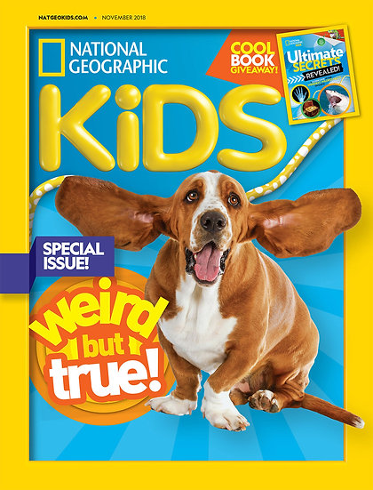 National Geographic Kids W/ FREE Colouring Set (SC)