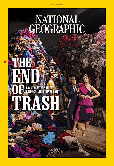 March 2020 - NatGeo Main Magazine Single Copy ( FREE delivery included)