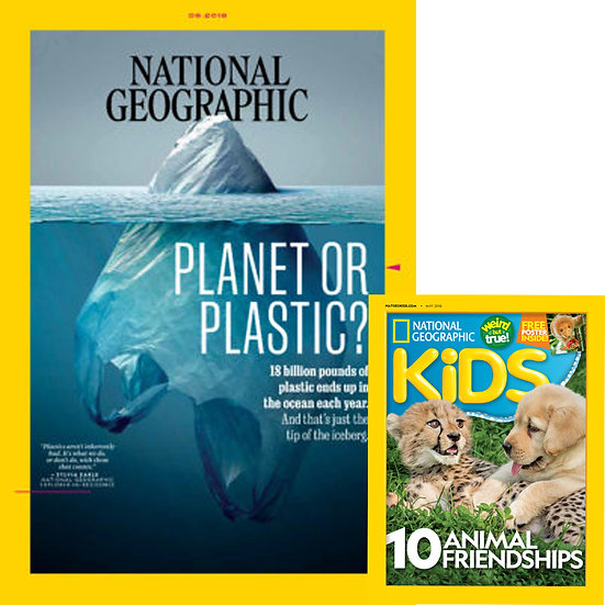 Big Kids Bundle: NatGeo Main and NatGeo Kids (Maybank)