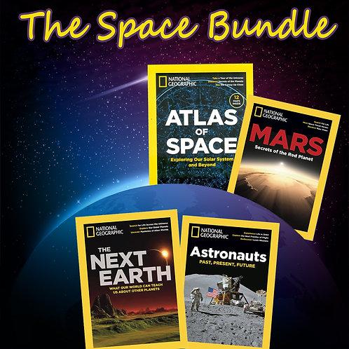 NatGeo Space issues Bundle (4 copies)