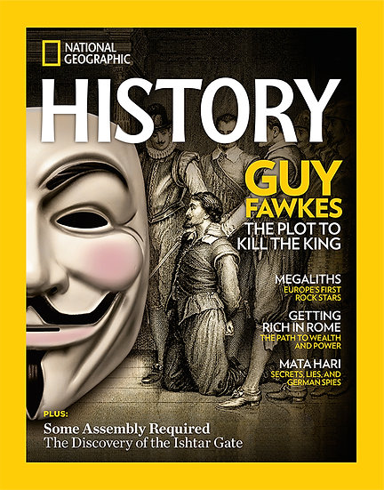 National Geographic History Magazine (NUS)