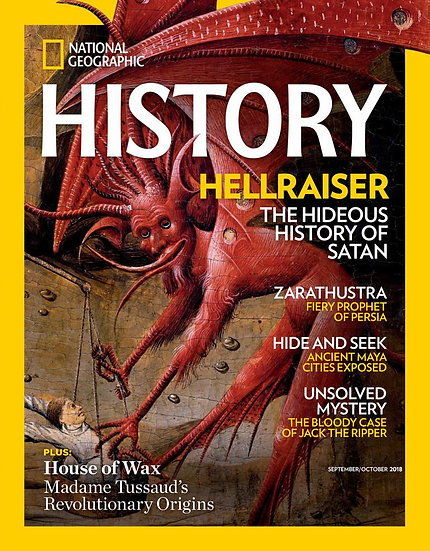 National Geographic History (6 Issues) W/ FREE Brown Fleece Jacket (NTU)