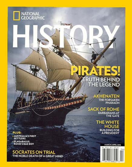 National Geographic History W/ FREE Brown Fleece Jacket (Rewardz)