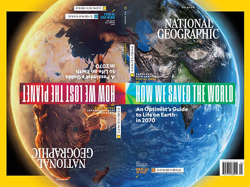 April 2020 - NatGeo Magazine (FREE delivery included)