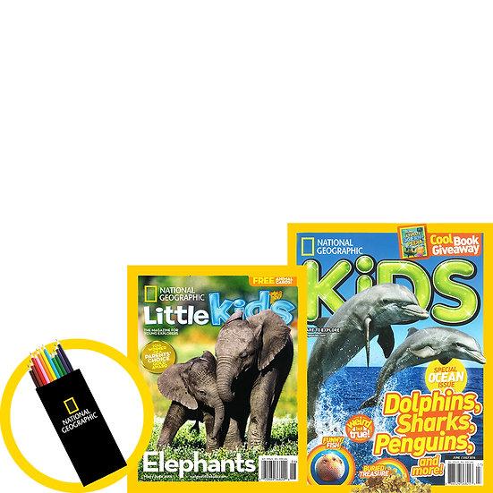 Kiddie Bundle w Free Colouring Set (PCFLF)