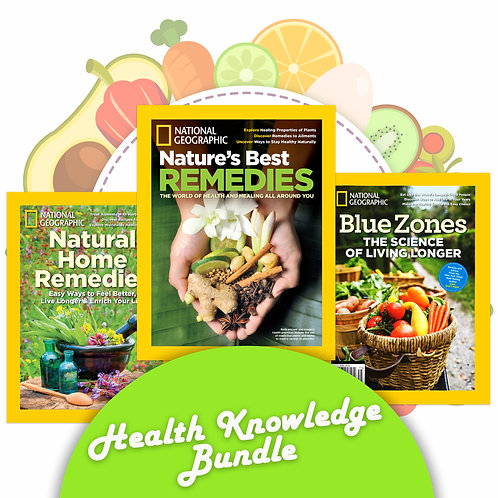 NatGeo Health Knowledge Bundle (3 copies)