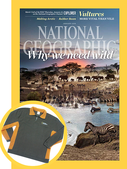 National Geographic Magazine (FREE brown jacket)