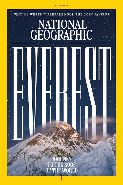 National Geographic Magazine July 2020 issue