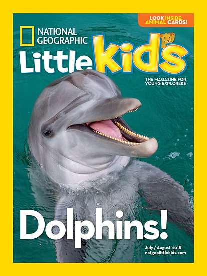 National Geographic Little Kids Magazine - 6 Issues W/ Science Kit
