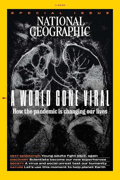 National Geographic Magazine - November 2020 issue