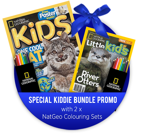 Kiddie Bundle: NGK + NGLK W/ FREE 2 Colouring Sets (Aranda)