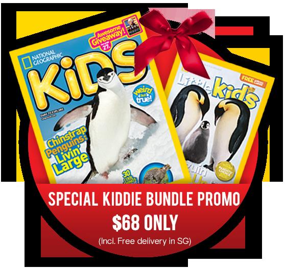 Special Kiddie Bundle Promo - 1 Year NGK + 1 Year NGLK Subscription