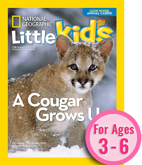 National Geographic Little Kids - 6 Issues/ Year (SuperMom)