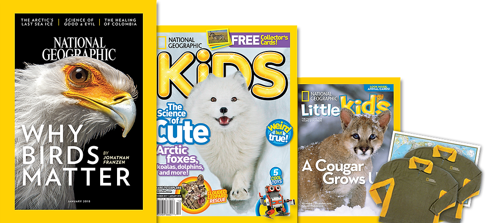 Family Bundle -Main magazine + Kids + Little Kids[Citibank(1 Apr'18- 30Jun'18)]