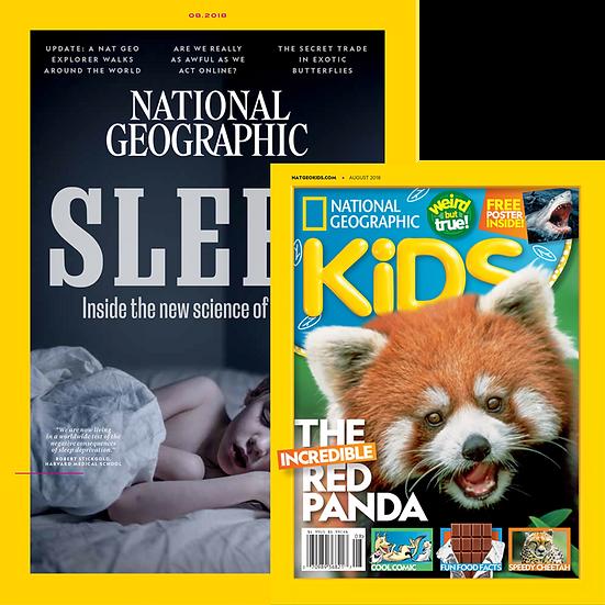 Big Kiddie Bundle: NGM + NGK Magazines (10.10)