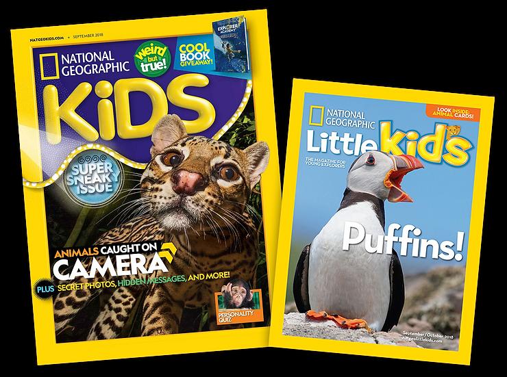 Kiddie Bundle: NGK + NGLK Magazines (10.10)