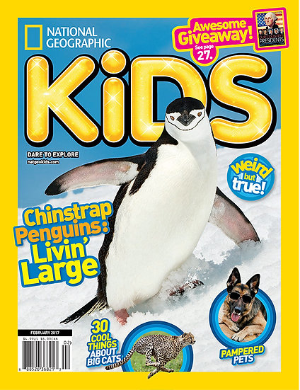 National Geographic Kids (Citibank)