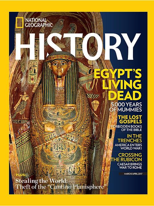 Single Copy - Nat Geo History - Egypt's Living Dead