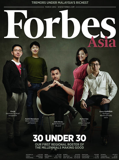 Forbes Asia - 11 Issues (MBS)