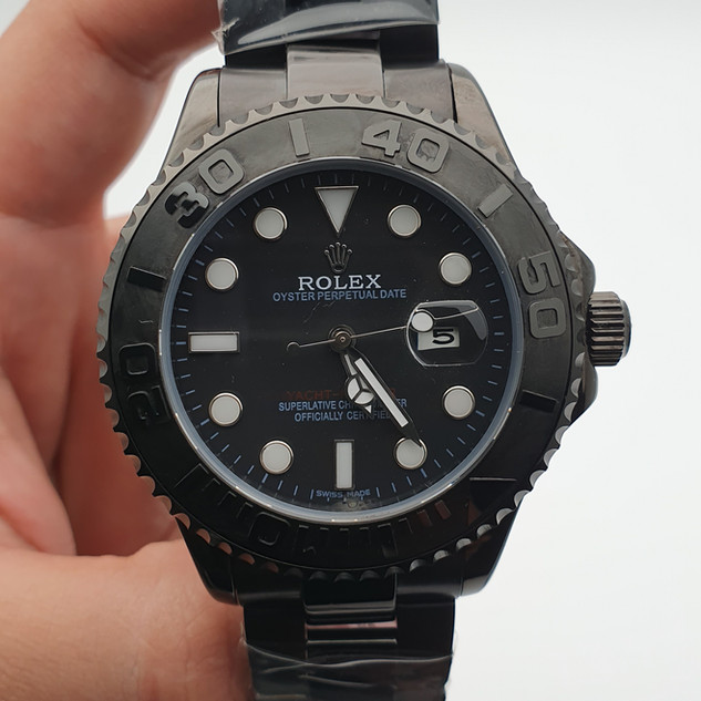 ROLEX YACHT MASTER ALL BLACK