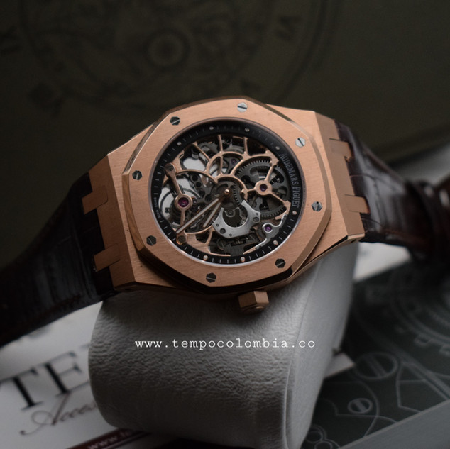 ROYAL OAK ESQUELETIZADO