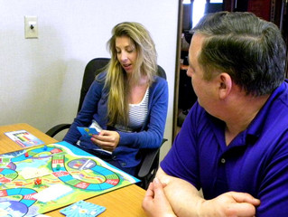 A credit game for financial education classes