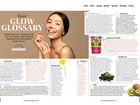 Glow Glossary - Natural Health Magazine