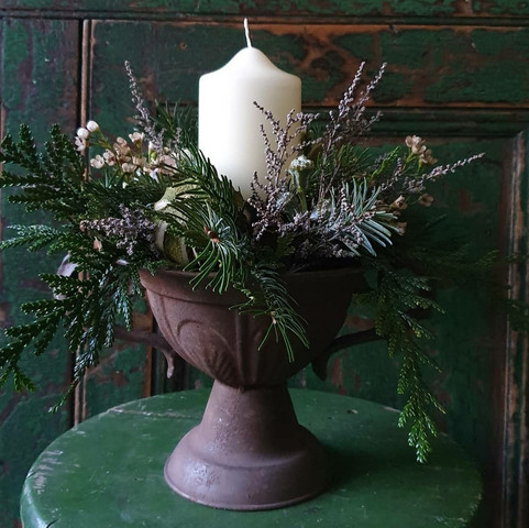 Candle in Urn