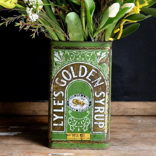 Vintage Golden Syrup Tin Large