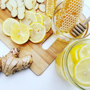 Natural Remedy with Honey