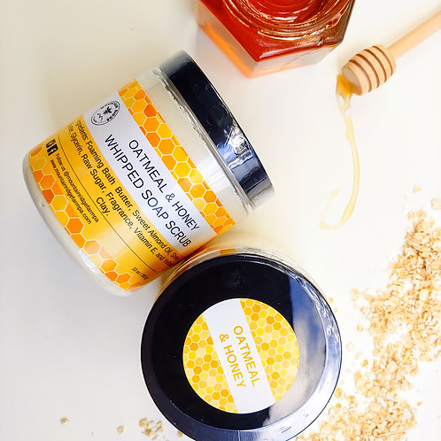 Oatmeal & Honey Scrub