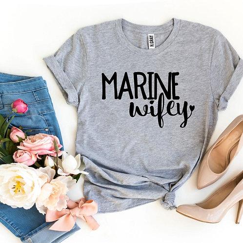 Marine Wifey T-shirt
