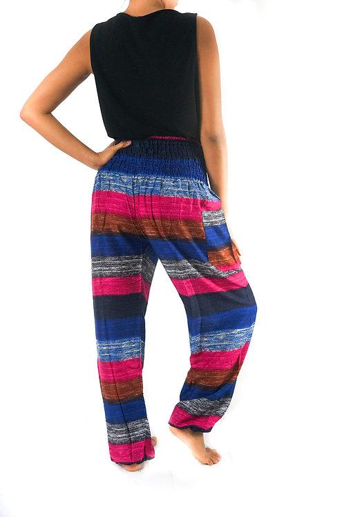 Striped Harem Pants, Hippie Pants, Boho Pants, Striped Pants