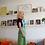 Thumbnail: KATACHI Blue Embroidery sequin wrap skirt