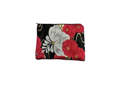 JIYUU Large Pink Obi Clutch Bag