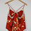 Thumbnail: Repurposed Rust Camisole Made from Vintage Silk Kimono