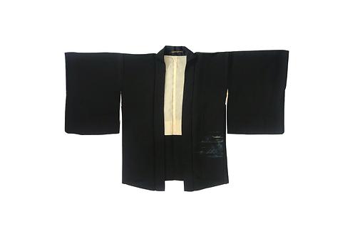 HAORI Black Silk