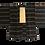 Thumbnail: Vintage Unisex Silk Rasta Stripe Kimono