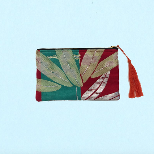Up-cycled Coin Purse Made From Vintage Japanese Obi